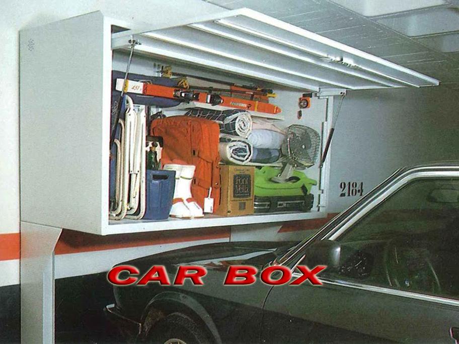 Car box armario trastero para garaje - Armarios para garaje ...