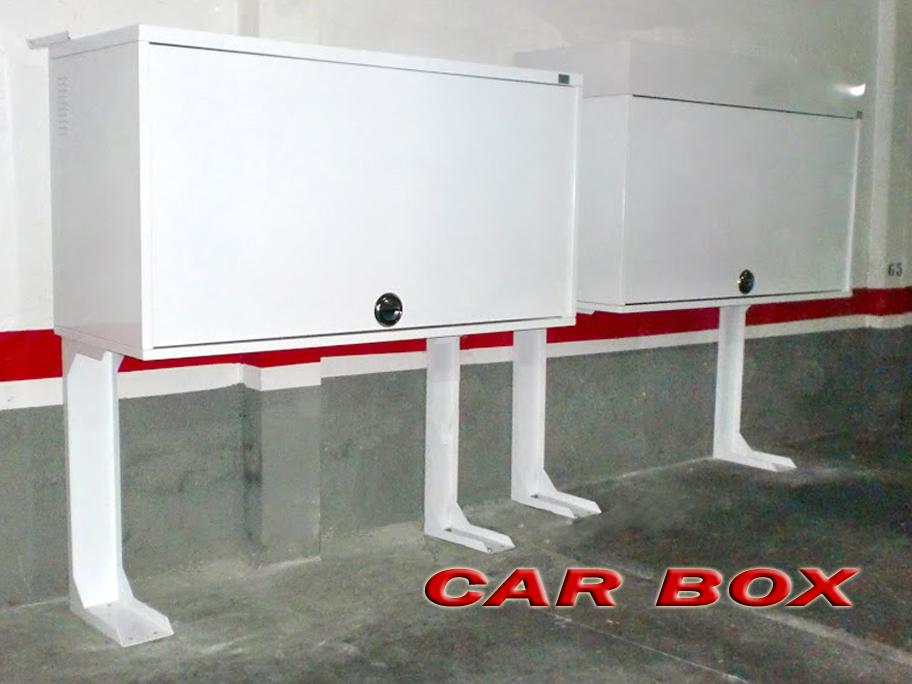 Car box armario trastero para garaje - Armarios para garajes ...